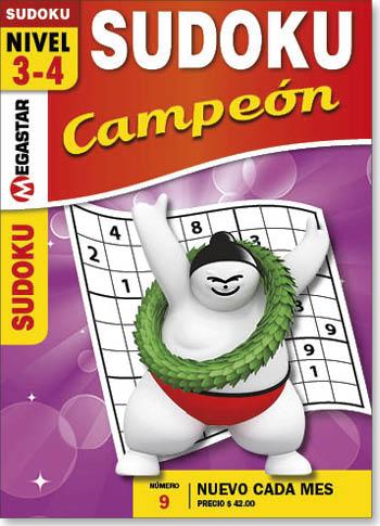 SUDOKU CAMPEÓN MEXICO