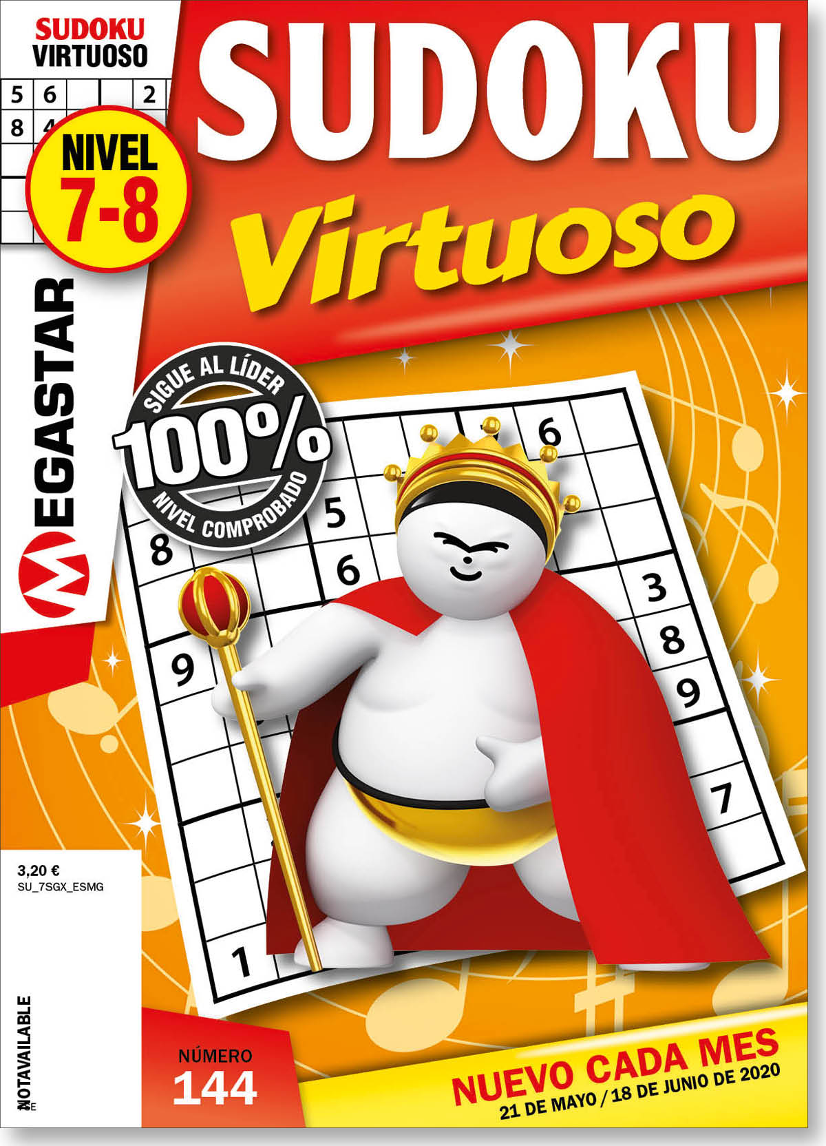 Sudoku Virtuoso Nivel 7-8