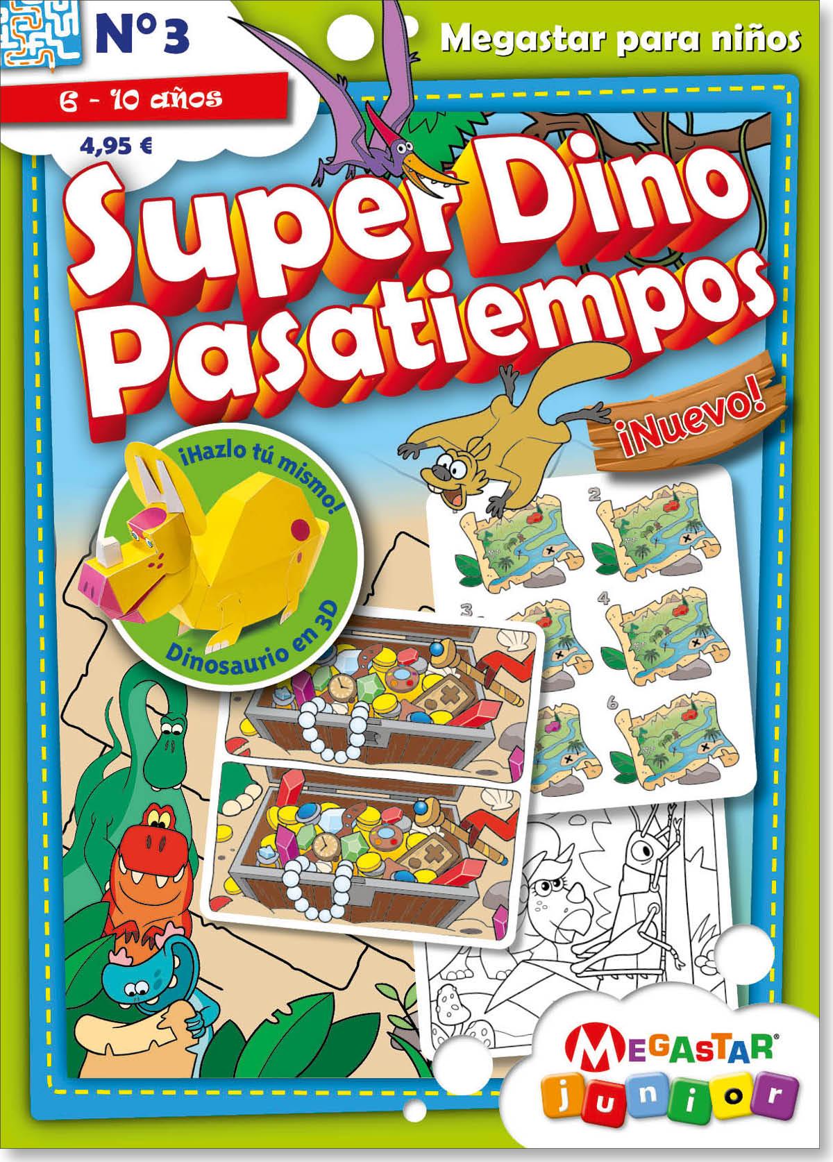 Super Dino Pasatiempos