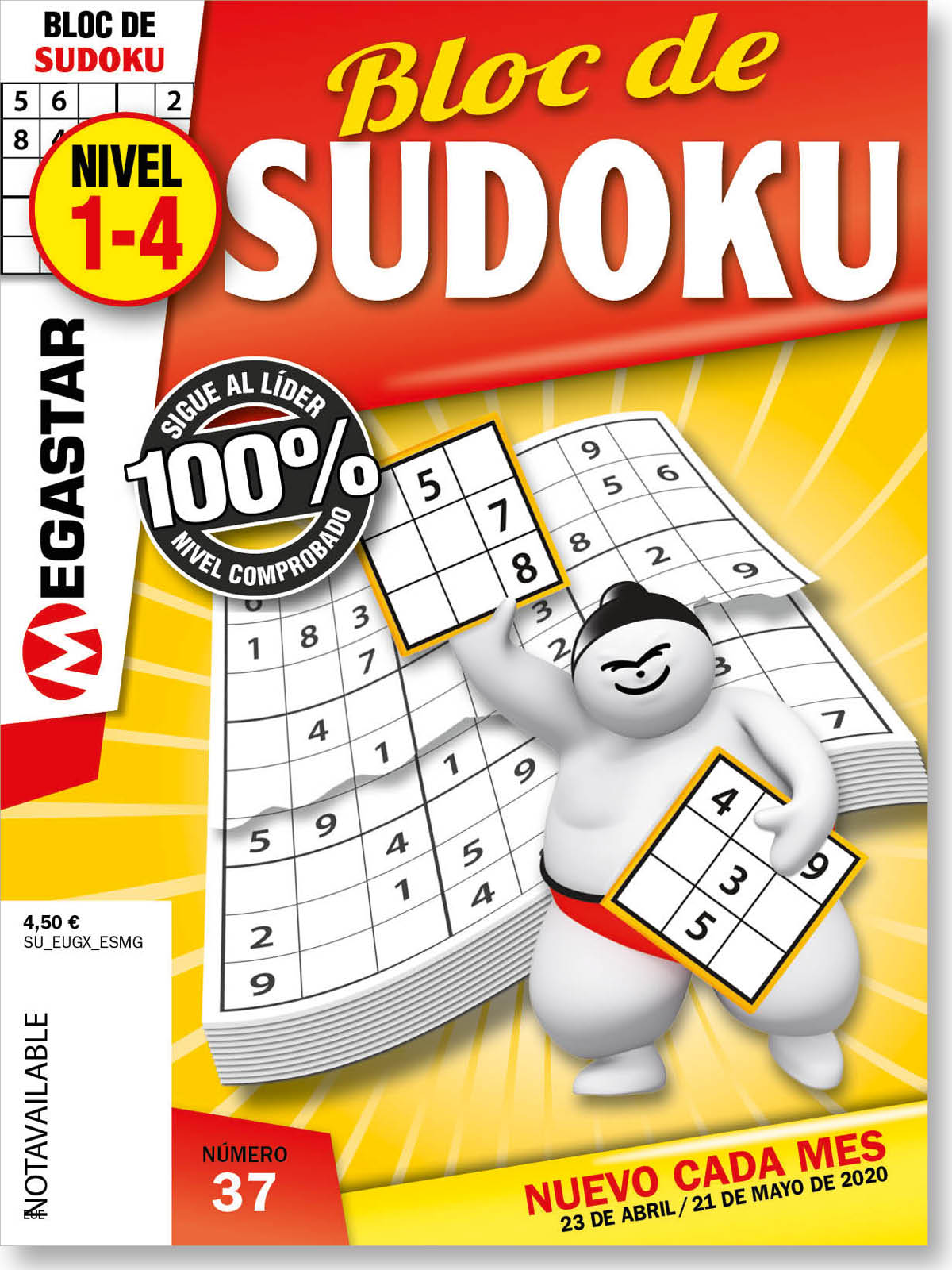 Bloc de Sudoku Nivel 1-4