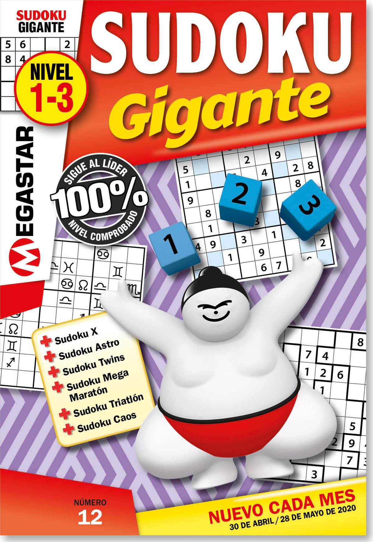 Sudoku Gigante Nivel 1-3