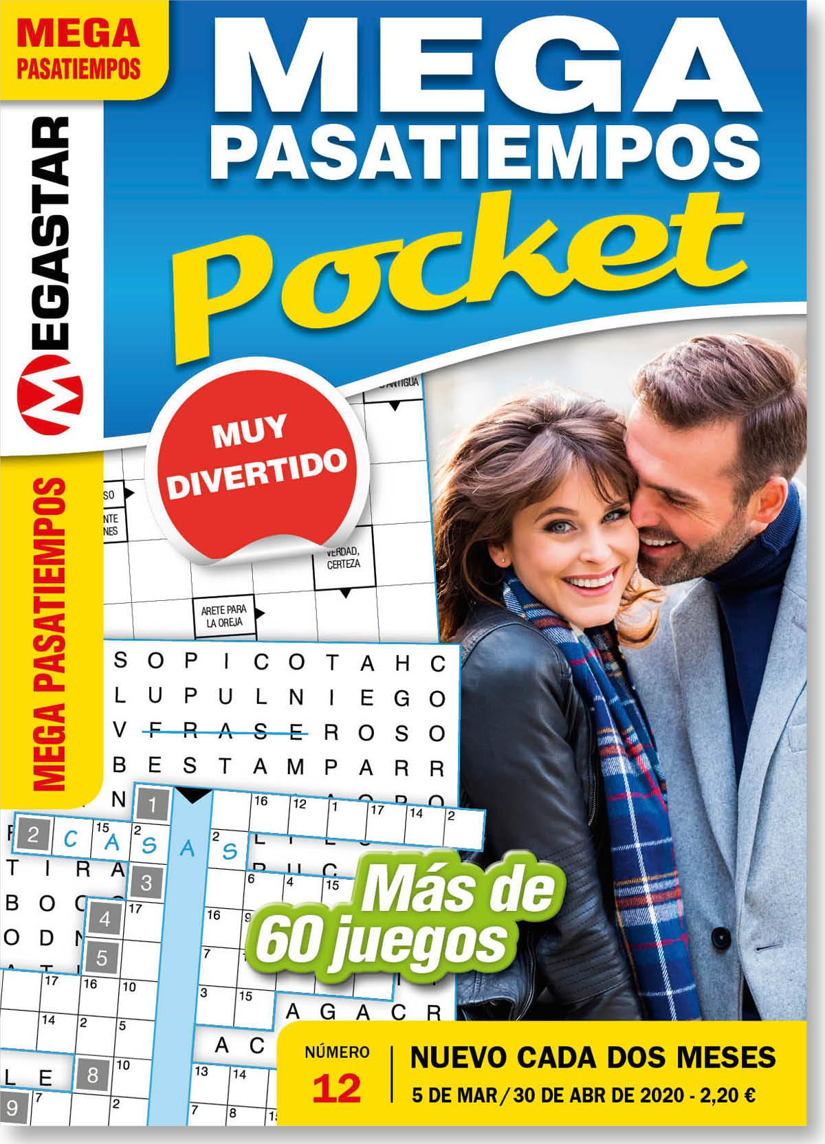 Mega Pasatiempos Pocket