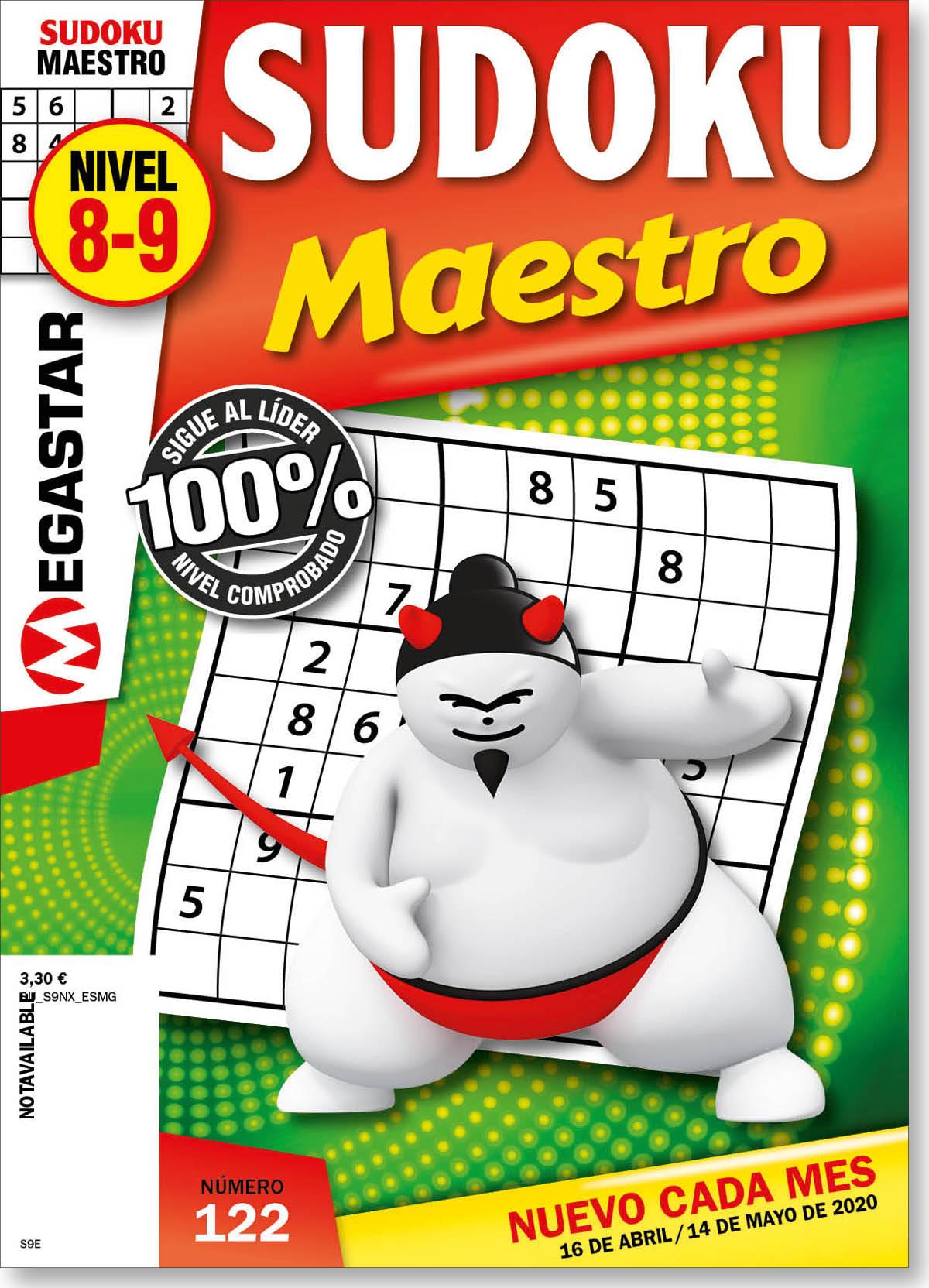 Sudoku Maestro Nivel 8-9