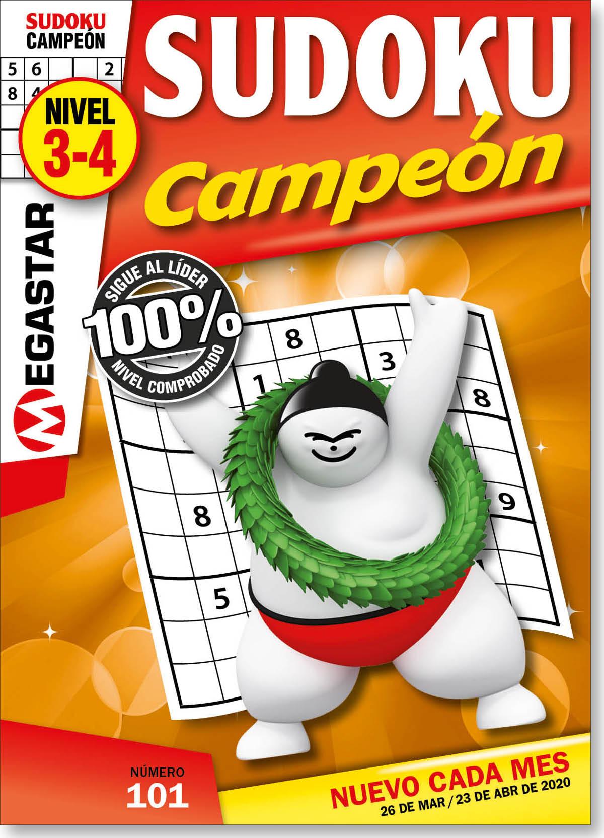 Sudoku Campeón Nivel 3-4