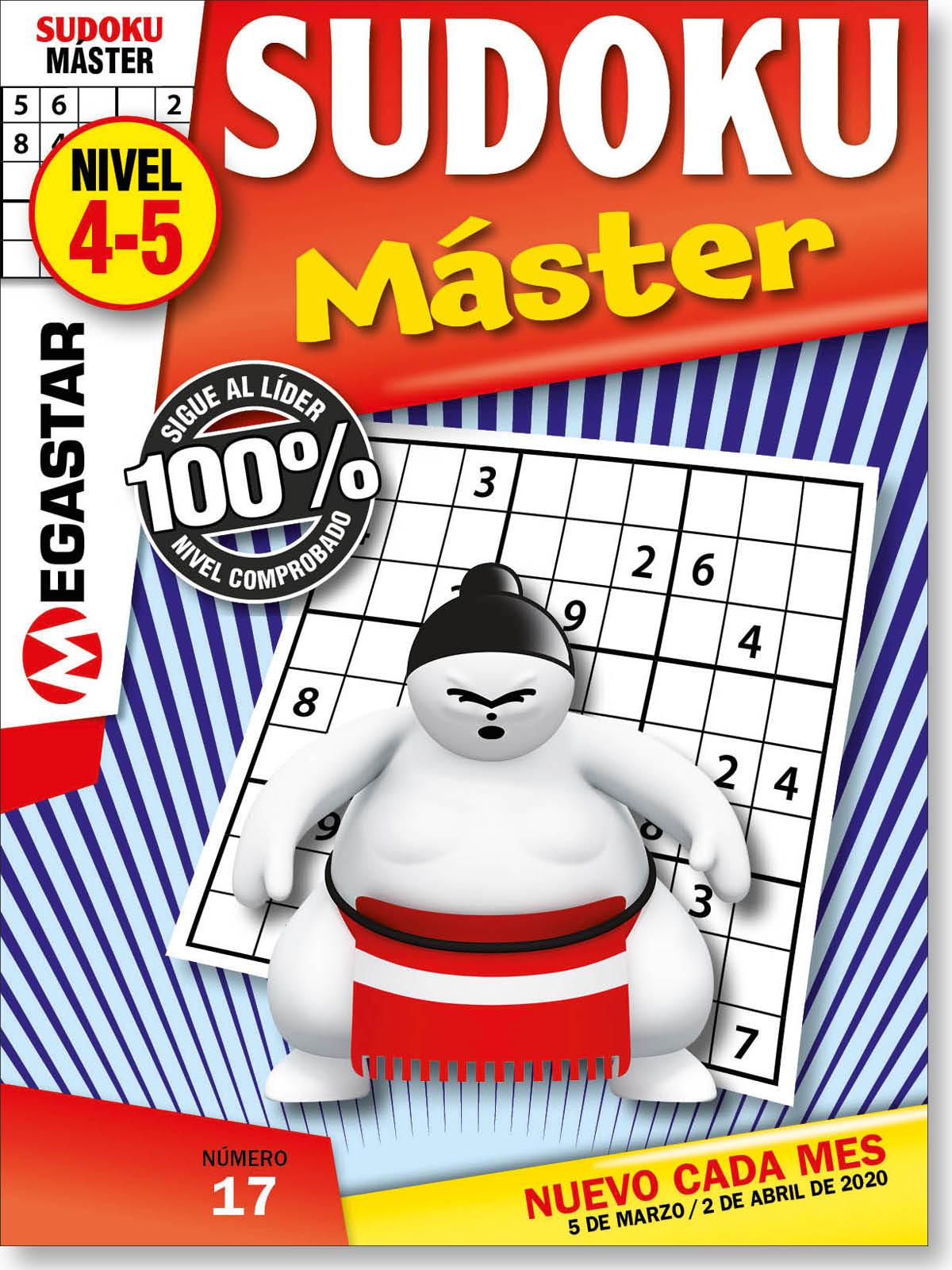 Sudoku Máster Nivel 4-5