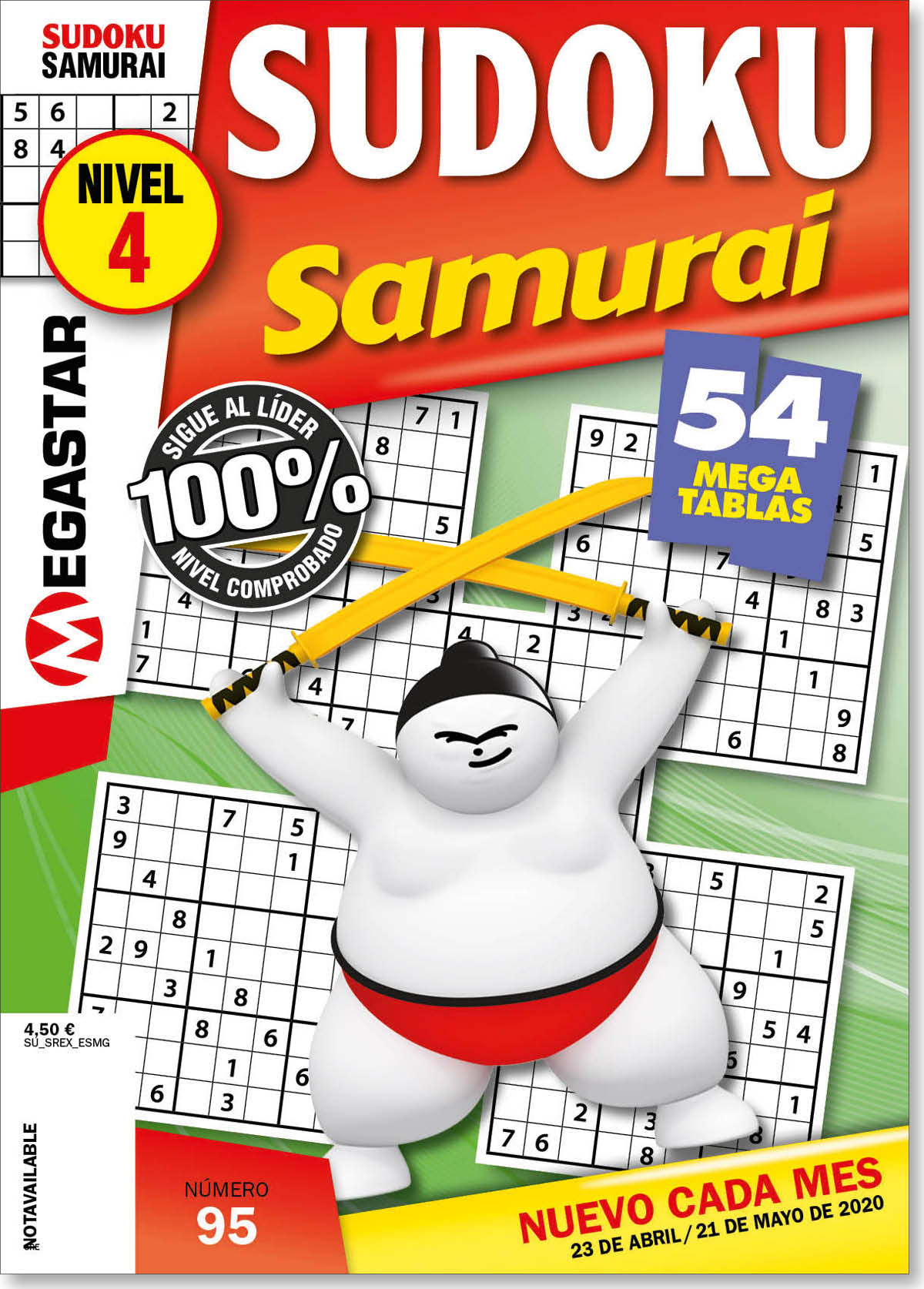 Sudoku Samurai Nivel 4