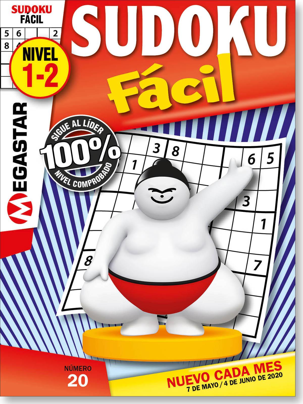 Sudoku Fácil Nivel 1-2