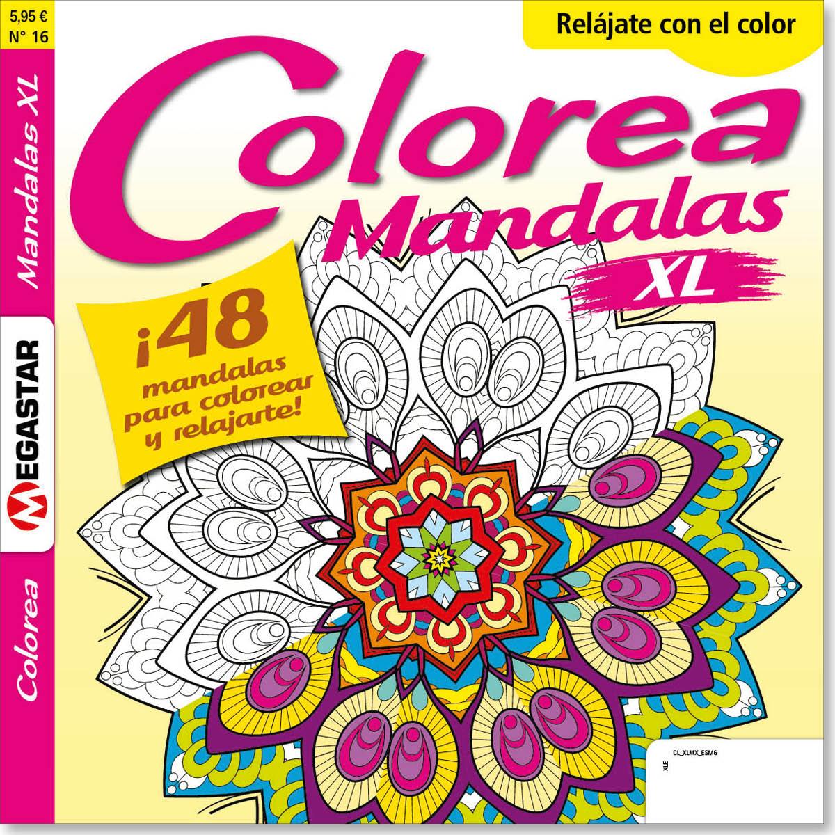 Colorea Mandalas XL