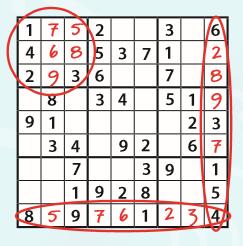 Sudoku reglas