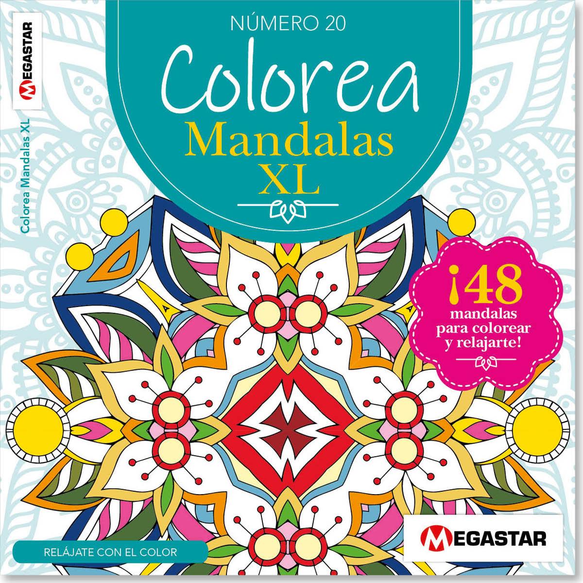 Colorea Mandalas XXL